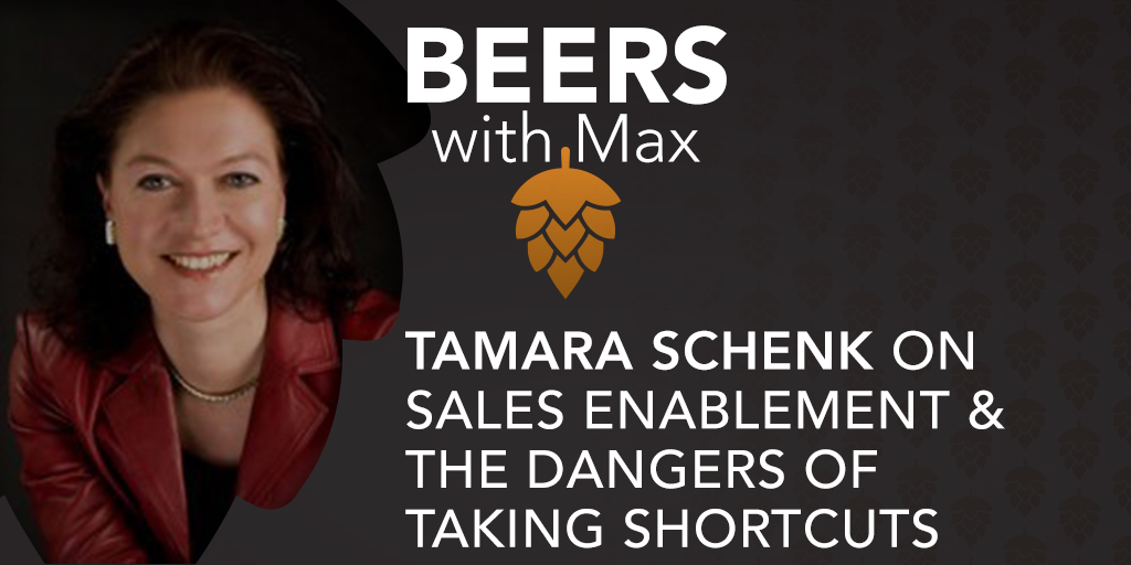 Sales Enablement & The Dangers of Taking Shortcuts w/Tamara Schenk - Featured Image